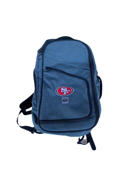 Jonas Griffith San Francisco 49ers Team Issued Backpack