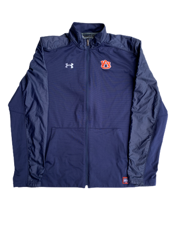 Bryce Brown Auburn Nike Zip-Up Jacket With Number On Back (Size L)