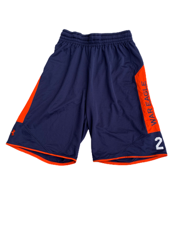 Bryce Brown Auburn Basketball Practice Shorts With Number (Size M)