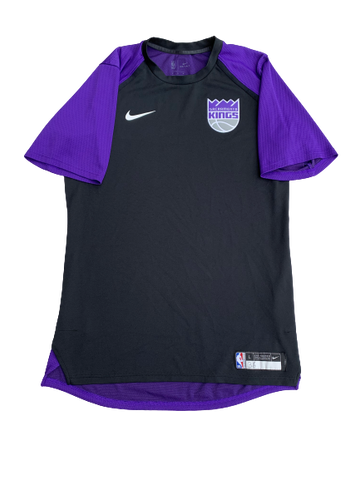 Bryce Brown Sacramento Kings Pre-Game Shooting Shirt (Size LT)