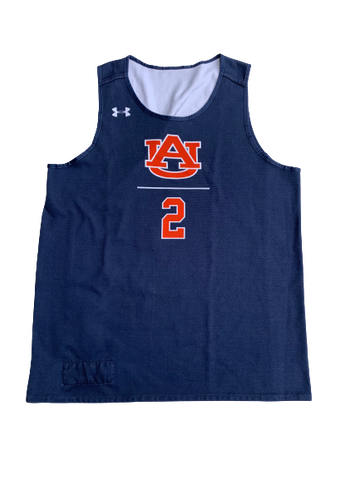 Bryce Brown Auburn Basketball Reversible Practice Jersey (Size L)