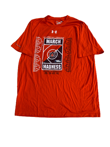 Bryce Brown Auburn March Madness Under Armour T-Shirt (Size L)