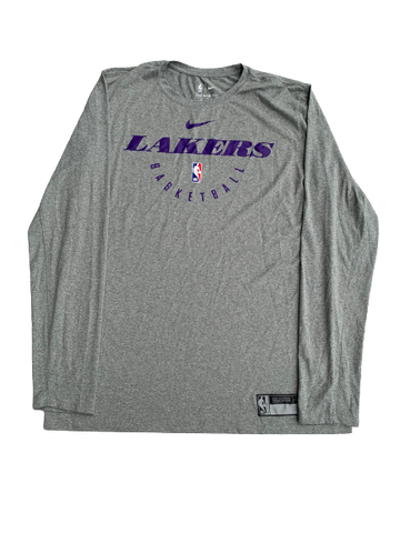 Bryce Brown Los Angeles Lakers Nike Long Sleeve Shirt (Size LT)