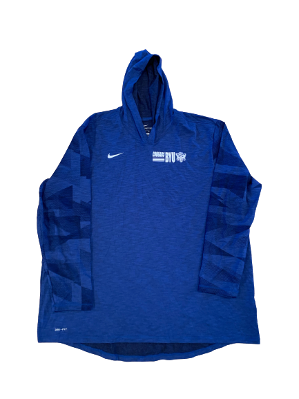 Brady Christensen BYU Football Nike Performance Hoodie (Size XXXL)