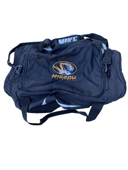 Annika Gereau Missouri Volleyball Duffle Bag With Number