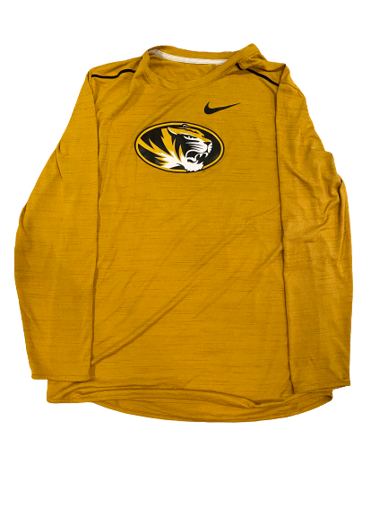Annika Gereau Missouri Nike Long Sleeve Shirt (Size Men's L)