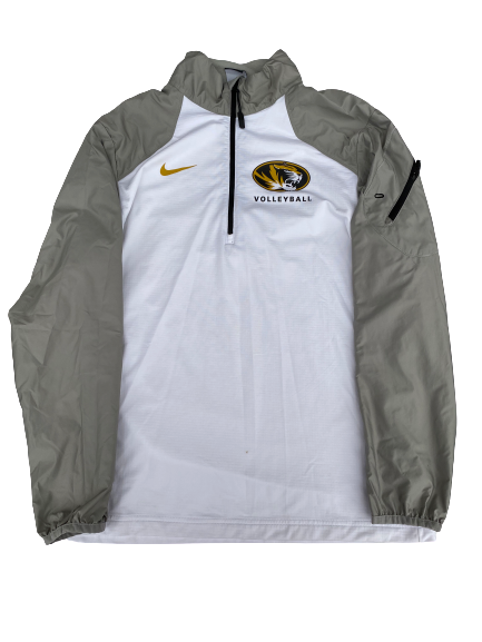 Annika Gereau Missouri Volleyball Nike 1/4 Zip (Size Men's M)