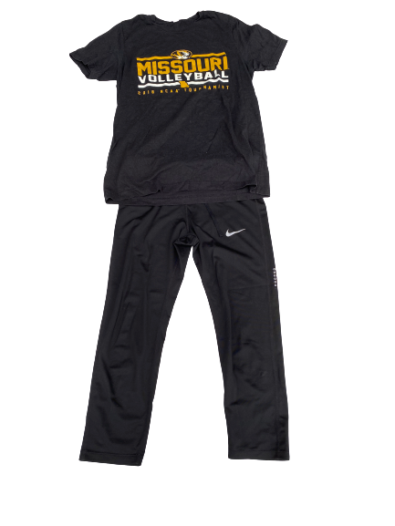Annika Gereau Missouri Volleyball Nike Set (T-Shirt and Pants)