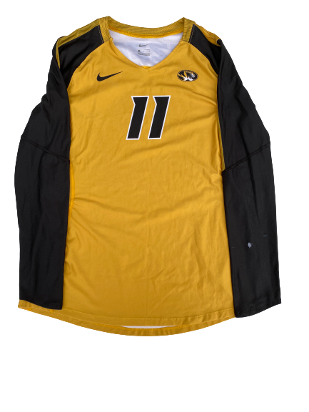 Annika Gereau Missouri Volleyball Game-Worn Jersey (Size Men's L)