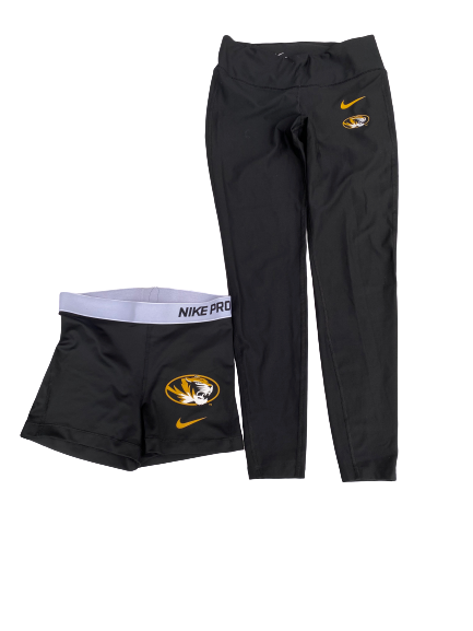 Annika Gereau Missouri Nike Set (Shorts and Pants)