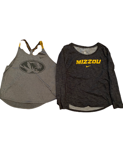 Annika Gereau Missouri Nike Set (Tank and Long Sleeve Shirt)
