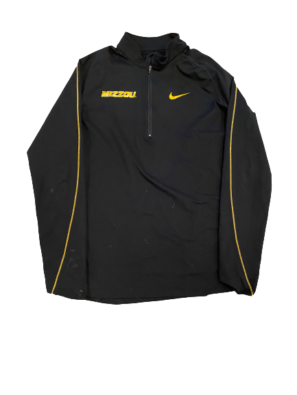 Annika Gereau Missouri Nike 1/4 Zip Jacket (Size Men's L)