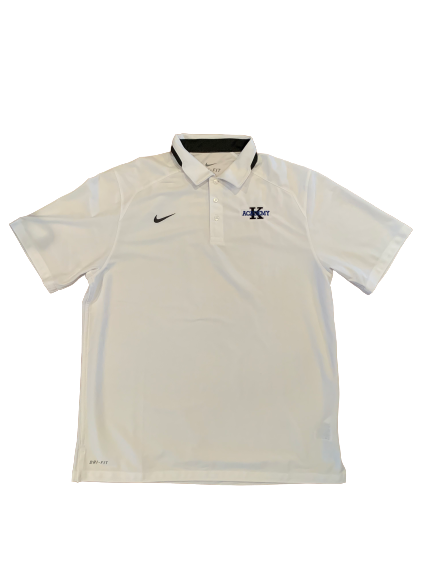 Mike Buckmire Duke Basketball Coach K Academy Polo Shirt (Size L)