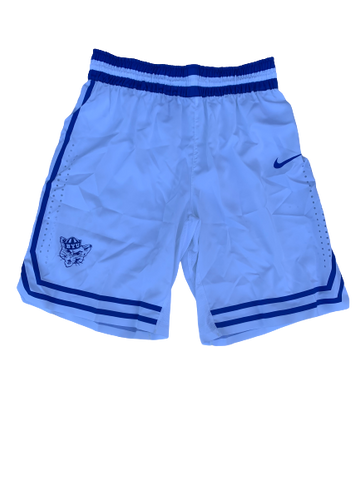 Jake Toolson BYU Basketball 2018-2019 Season Game-Issued Shorts (Size 38)