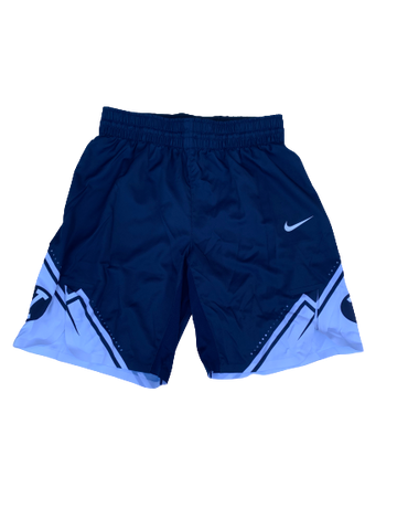 Jake Toolson BYU Basketball 2019-2020 Season Game-Worn Shorts (Size 38)