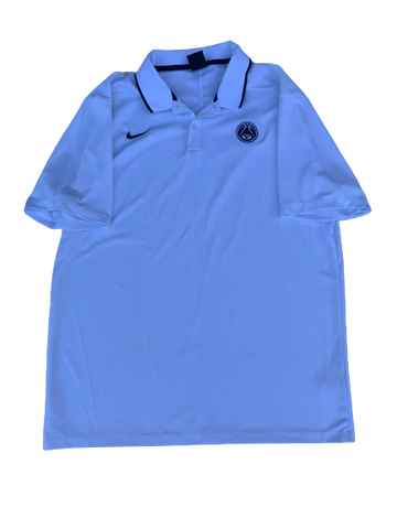 Jake Toolson BYU Basketball Nike Polo Shirt (Size L)