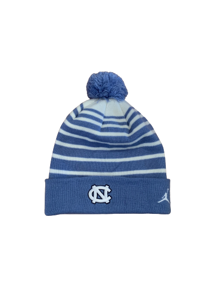 Day'Ron Sharpe North Carolina Basketball Team Issued Winter Hat