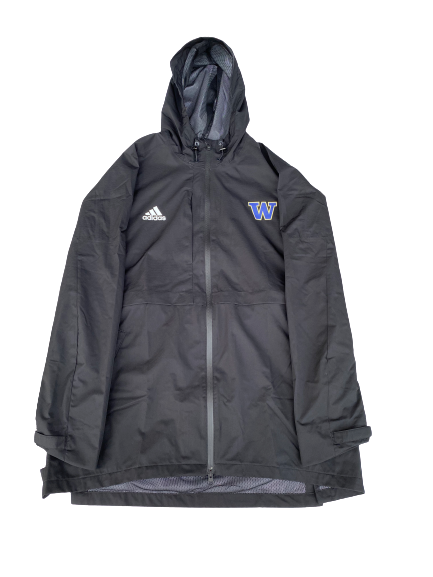 Nahziah Carter Washington Basketball Adidas Winter Jacket (Size L)