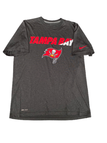 Isaiah Johnson Tampa Bay Buccaneers Team Issued Workout Shirt (Size M)