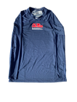 Zack Phillips Ole Miss Team Issued Long Sleeve Shirt (Size L)