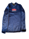 Zack Phillips Ole Miss Team Issued Crewneck Sweatshirt (Size L)