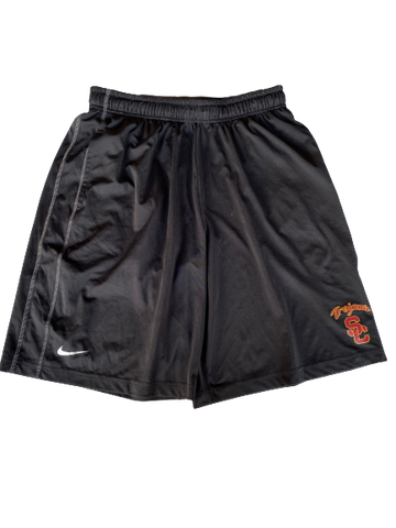 Austin Manning USC Team Issued Workout Shorts (Size L)