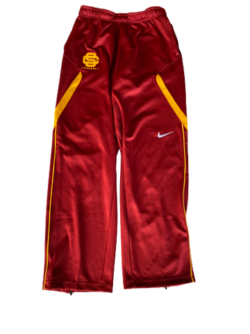 Austin Manning USC Team Issued Sweatpants (Size M)