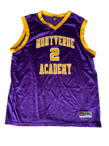L.D. Williams Montverde Academy Basketball Game Worn Jersey (Size XXL)