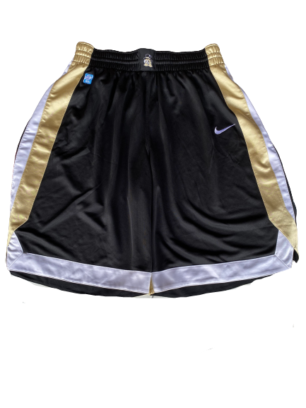 L.D. Williams Wake Forest Basketball 2010-2011 Game Shorts (Size M)