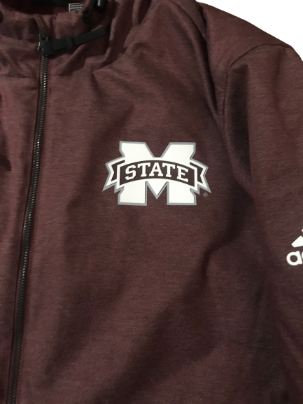 Robert Woodard II Mississippi State Adidas Winter Jacket (Size XL)