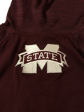 Robert Woodard II Mississippi State Basketball Adidas Pre-Game Short Sleeve Hoodie (Size XL)