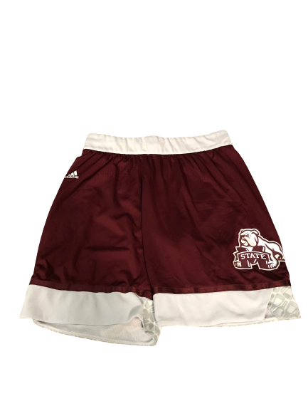Robert Woodard II Mississippi State Basketball Game-Worn Shorts (Size XXL +2 Length)