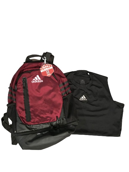 Robert Woodard II Mississippi State Set (Backpack With Player Tag and Techfit Tank)