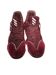 Robert Woodard II Mississippi State Basketball Signed Game-Worn James Harden Sneakers (Size 16)