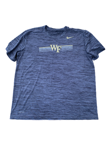 Tyler Witt Wake Forest Team Issued Workout Shirt (Size XL)