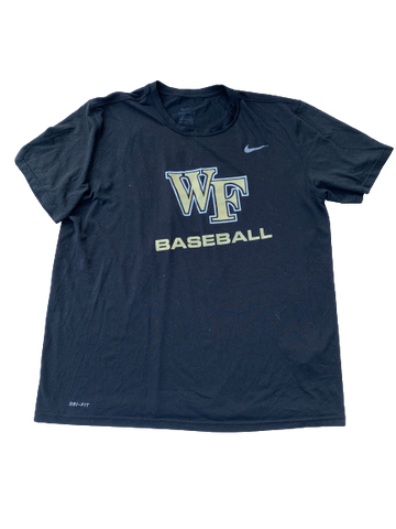 Tyler Witt Wake Forest Team Issued Practice Shirt with Number on Back (Size XL)