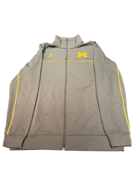 Michigan Jordan Full-Zip Jacket (Size M)