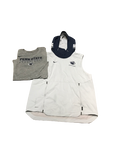 Curtis Jones Penn State Short Sleeve Hoodie and Workout Shirt (Size L)