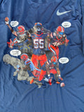 Chris Fredrick Syracuse Football Player Exclusive Shirt (Size XL)