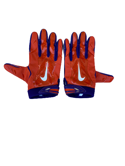 Cornell Powell Clemson Football Nike Gloves (Size XXXL)