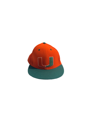 Chris McMahon Miami Baseball Game Hat (Size 7 1/8)