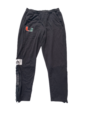 Chris McMahon Miami Adidas Sweatpants (Size L)
