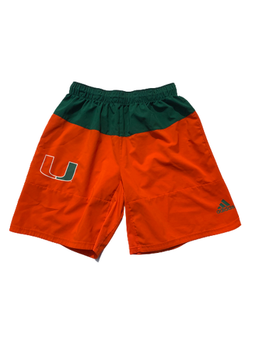 Chris McMahon Miami Adidas Shorts (Size L)