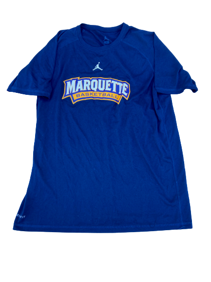 Sacar Anim Marquette Basketball Team Issued Workout Shirt (Size L)