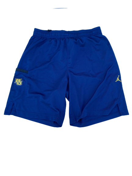 Sacar Anim Marquette Basketball Team Issued Shorts (Size L)