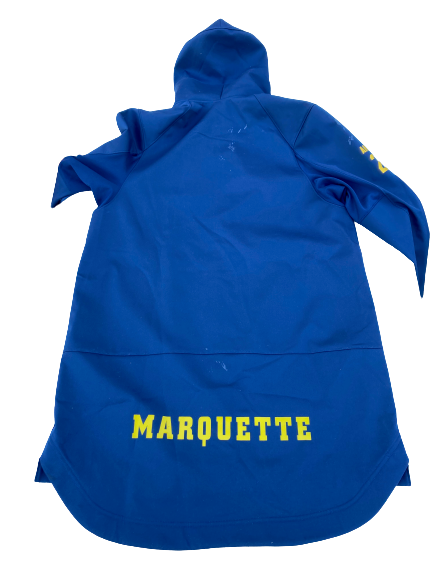 Sacar Anim Marquette Basketball Player Exclusive Zip-Up Jacket (Size L)