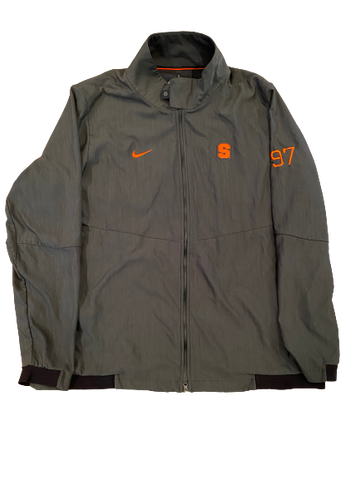 Brandon Berry Syracuse Football Player Exclusive Jacket with Number (Size XXL)