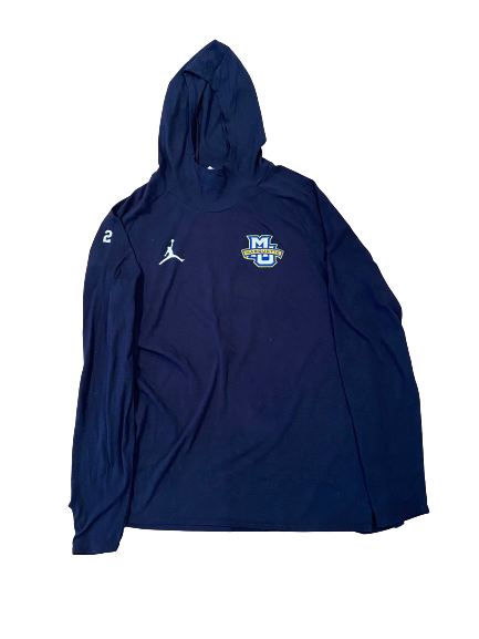 Sacar Anim Marquette Basketball Player Exclusive Sweatshirt with Number On Sleeve (Size L)