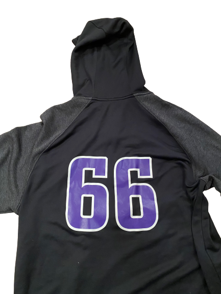 Nik Urban Northwestern Football Player Exclusive Hoodie with Number (Size XXL)