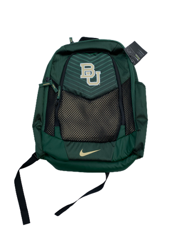 Wendell Mitchell Baylor Team Issued Backpack (New With Tags)